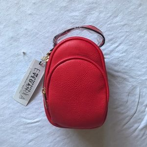 Emperia red mini backpack